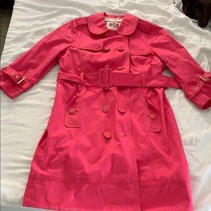 Juicy Couture pink coat.